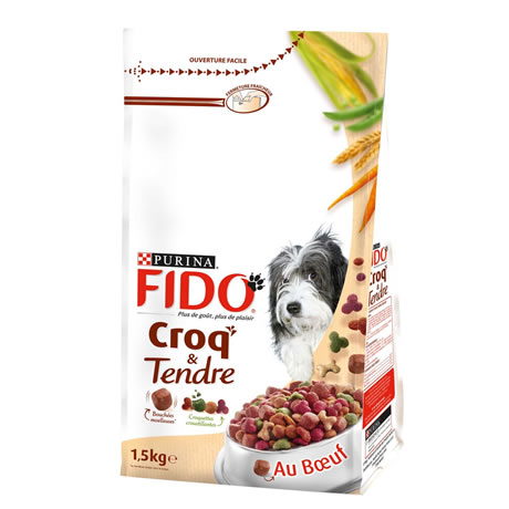 FIDO - Croquettes Boeuf - lgumes du jardin