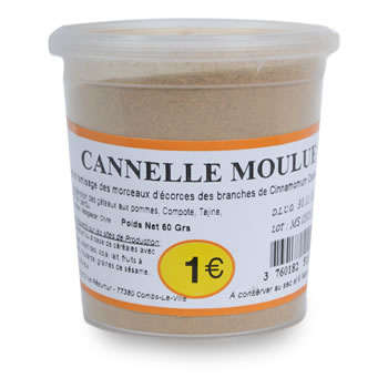 EPICES Cannelle moulu